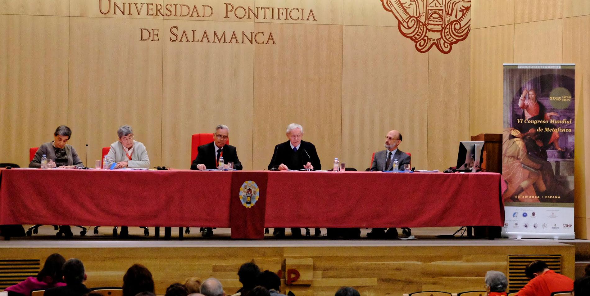 Congreso Universidad Pontífica Salamanca